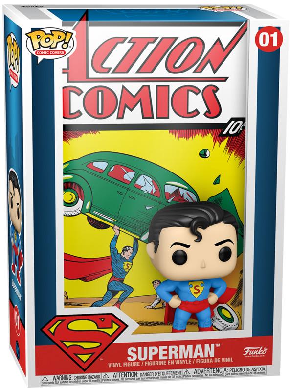 DC Comics: Superman Action Comics - Pop! Comic Cover