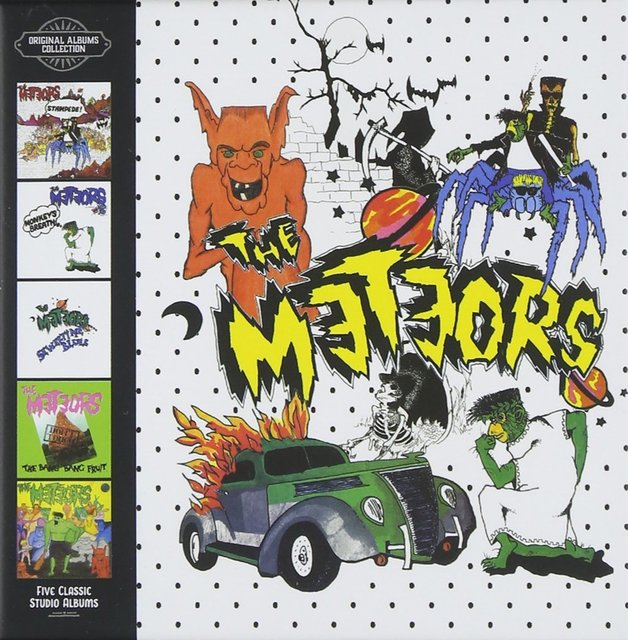 Five Classic Studio Albums by The Meteors