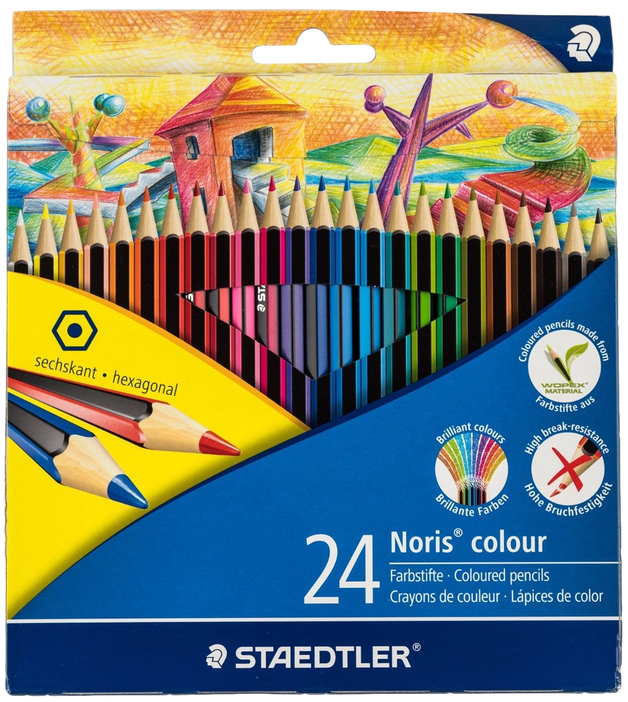 Staedtler - Noris Colour Pencils - Pack of 24