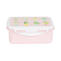 Pastel Cactus Lunch Box