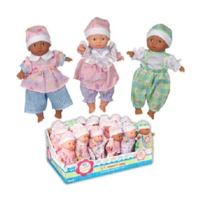 Toysmith: Mini Babies - Baby Doll (Assorted Designs)