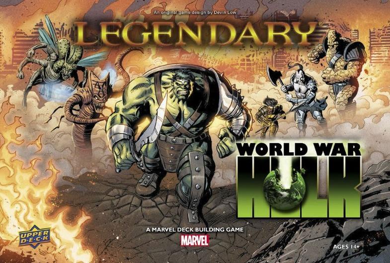 Marvel Legendary: World War Hulk - Deck Building Game image