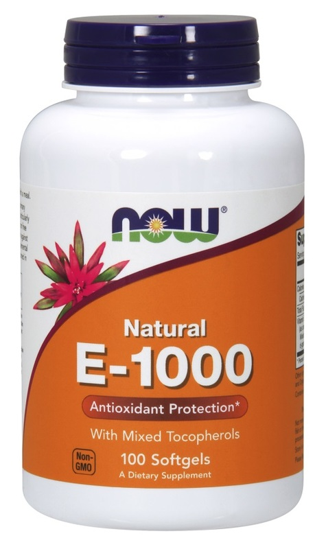 Now Foods: Vitamin E-1000 (100 Soft Gels)
