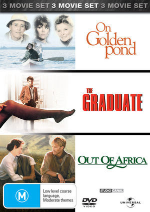 On Golden Pond/The Graduate/Out of Africa (3 Disc Set) on DVD