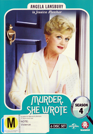 Murder, She Wrote - Season Four on DVD