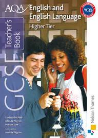 AQA GCSE English and English Language Higher Tier Teacher's Book by Imelda Pilgrim image