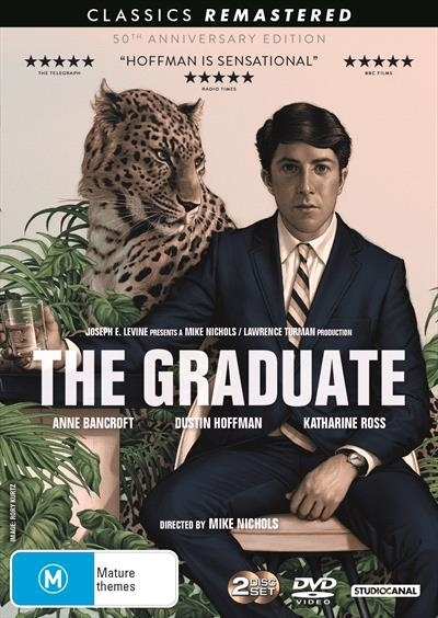 The Graduate (50th Anniversary Edition) on DVD image