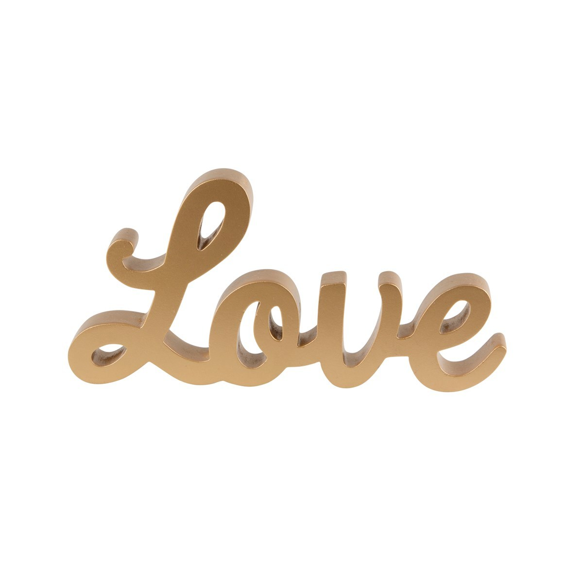 Gold Love Standing Letters image