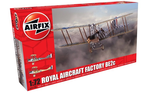 Airfix Royal Aircraft Factory BE2c Scout 1:72 Model Kit