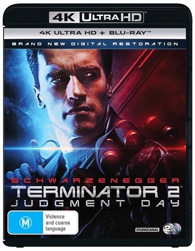 Terminator 2: Judgement Day on Blu-ray, UHD Blu-ray image