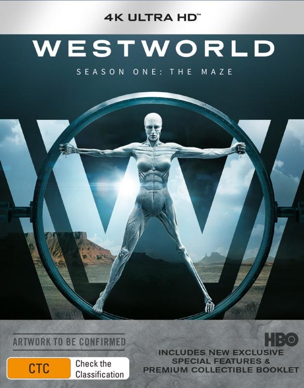 Westworld - Season One (4K UHD + Blu-ray) on UHD Blu-ray