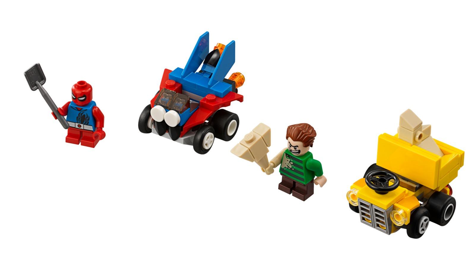 LEGO Super Heroes: Mighty Micros - Scarlet Spider vs. Sandman (76089) image