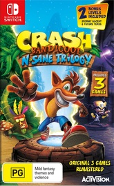 Crash Bandicoot N-Sane Trilogy for Nintendo Switch