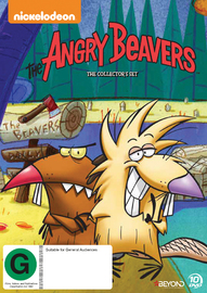 Angry Beavers Collector's Set on DVD image