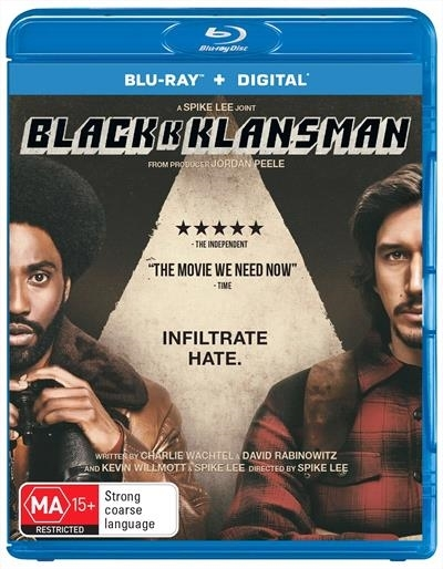 Blackkklansman on Blu-ray