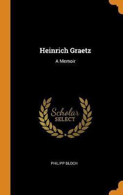 Heinrich Graetz by Philipp Bloch image