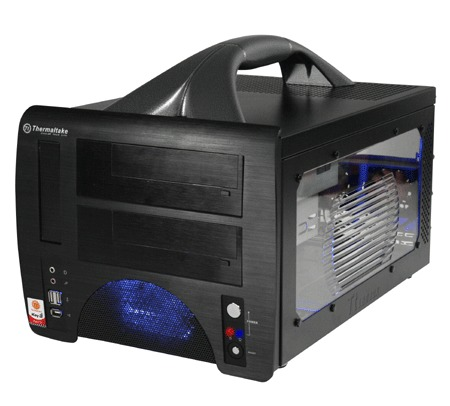 Thermaltake LanBox case with handle - Black