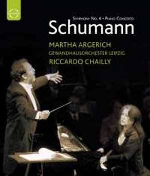 Schumann - Piano Concerto & Symphony No. 4 on Blu-ray