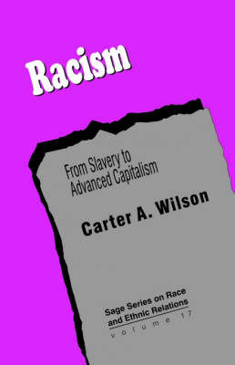 Racism by Carter A. Wilson