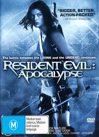 Resident Evil 2 - Apocalypse DVD