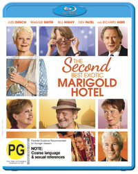 The Second Best Exotic Marigold Hotel on Blu-ray