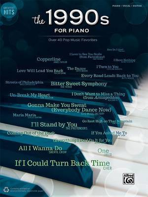Greatest Hits -- The 1990s for Piano