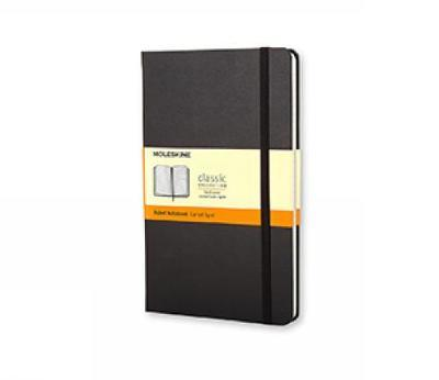 Moleskine Ruled Notebook (Large, Hard, Black)