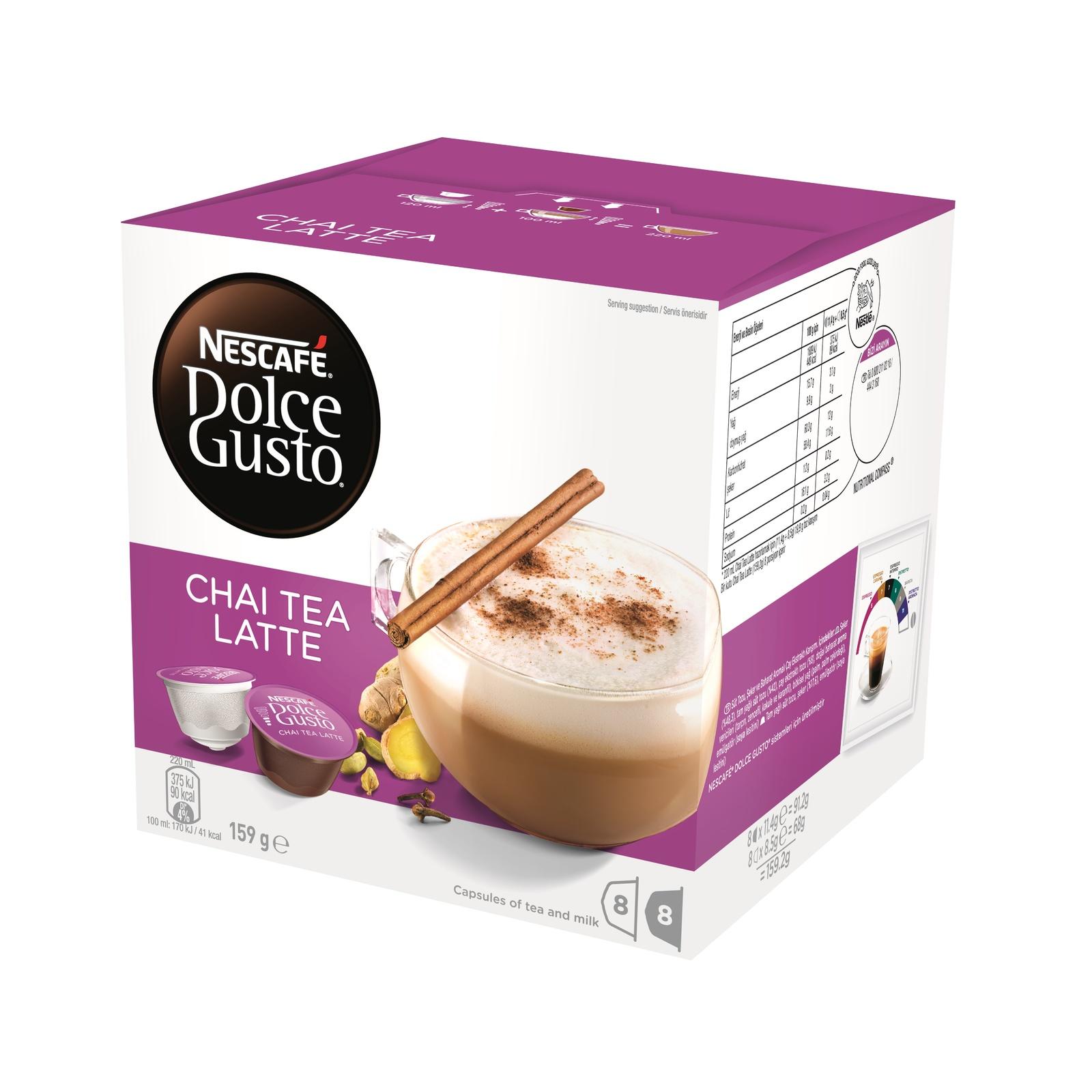 Nescafe Dolce Gusto (Chai Tea, 8pk) image
