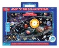 Map Of The Solar System - Magnetic Playboard & Puzzle
