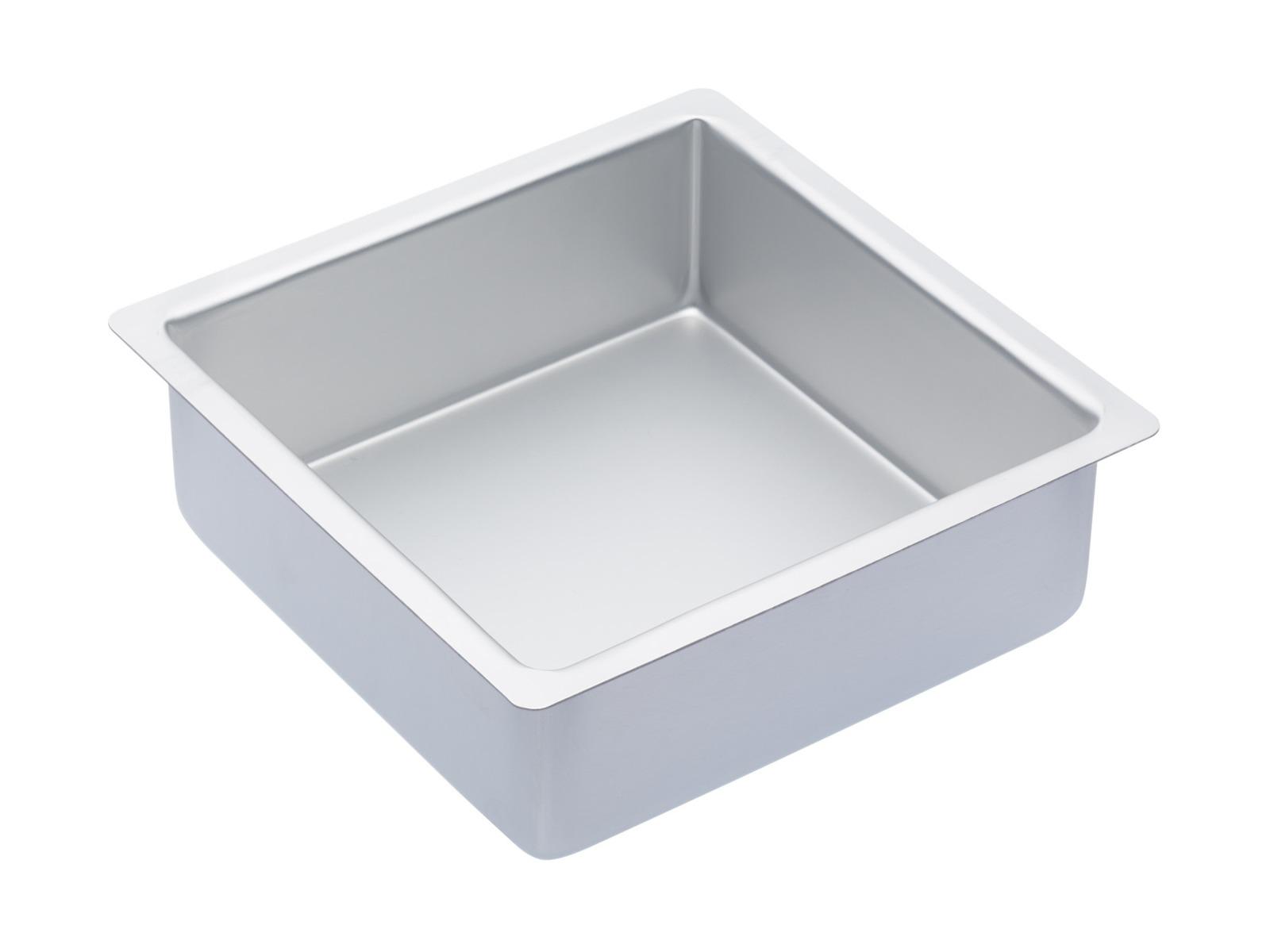 MasterClass: Silver Anodised Square Deep Cake Pan (20cm) image