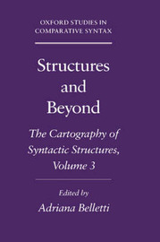 Structures and Beyond: Volume 3: The Cartography of Syntactic Structures image