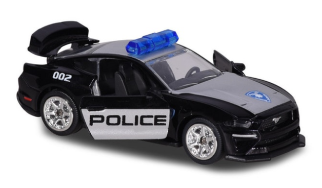 Majorette: Police Mustang GT (Deluxe) - 1:64 Scale Diecast Vehicle