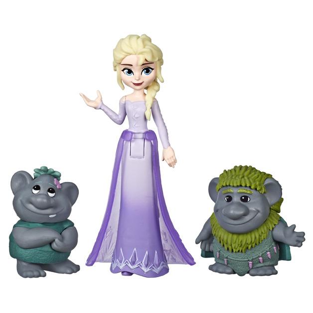 Frozen II: Elsa & Trolls - Small Doll Set