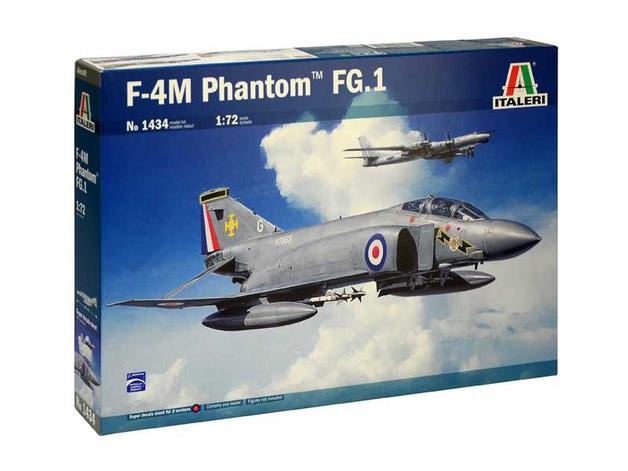 Italeri: 1/72 McDonnell Douglas F-4M Phantom FG.1 - Model Kit