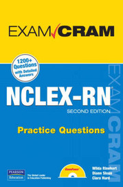 NCLEX-RN Practice Questions by Clara Hurd image
