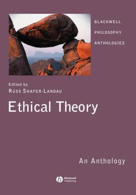 Ethical Theory: An Anthology image