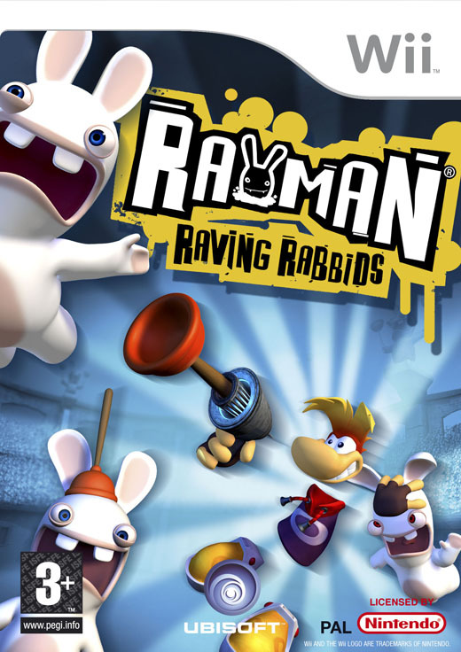 Rayman: Raving Rabbids for Nintendo Wii