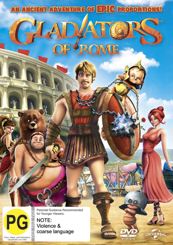 Gladiators of Rome on DVD