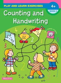 Gillian Miles - A4 Play & Learn - Counting and Handwriting: Book 2