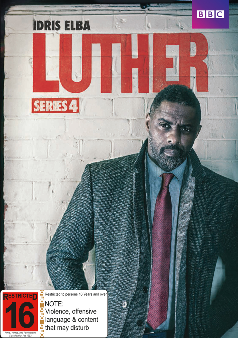 Luther - Series 4 on DVD image