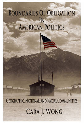 Boundaries of Obligation in American Politics by Cara J. Wong image