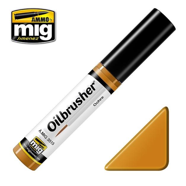 Ammo of Mig Jimenez: Oil Brusher - Ochre