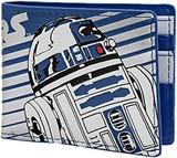 Star Wars: R2-D2 - Blue Striped Bifold Wallet