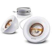 Philips SBA1500 Portable MP3 Speakers- White image