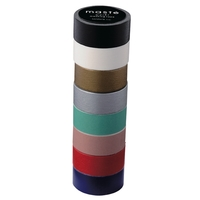Maste Washi Tape Set of 8 Rolls - Neutral