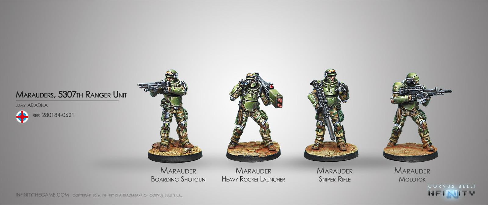 Infinity: Marauders, 5307th Ranger Unit image