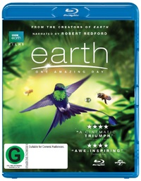 Earth: One Amazing Day on Blu-ray