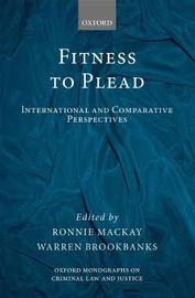 Fitness to Plead by Ronnie MacKay image
