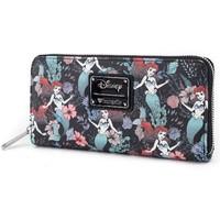 Loungefly: Disney Floral Ariel - Canvas Wallet