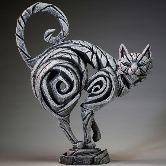 Edge Sculpture: Cat Figure - Small